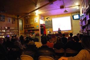 At Burning Books in Buffalo, NY, October 29